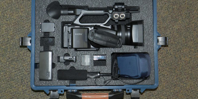 Custom Cases for Camera, Lighting, and Sound Equipment